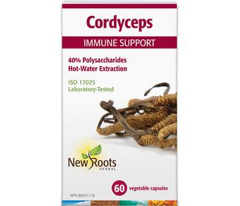 New Roots - Cordyceps immune support - 60 V-Caps
