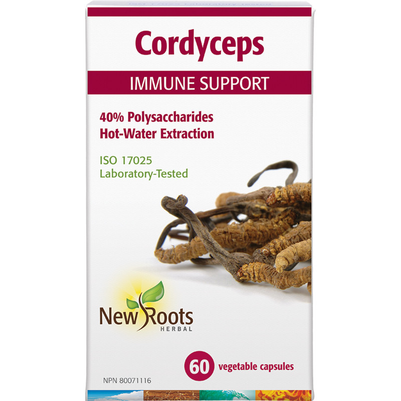 New Roots New Roots - Cordyceps immune support - 60 V-Caps