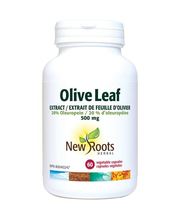 New Roots - Olive Leaf 500mg - 60 V-Caps