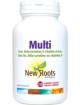 New Roots New Roots - Multi Iron Free - 120 Caps