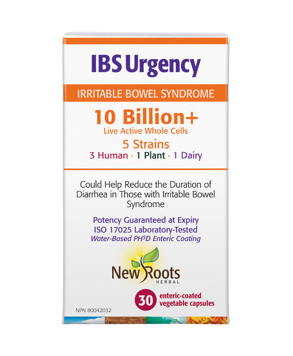 New Roots - IBS Urgency 10 Billion+ - 30 Caps