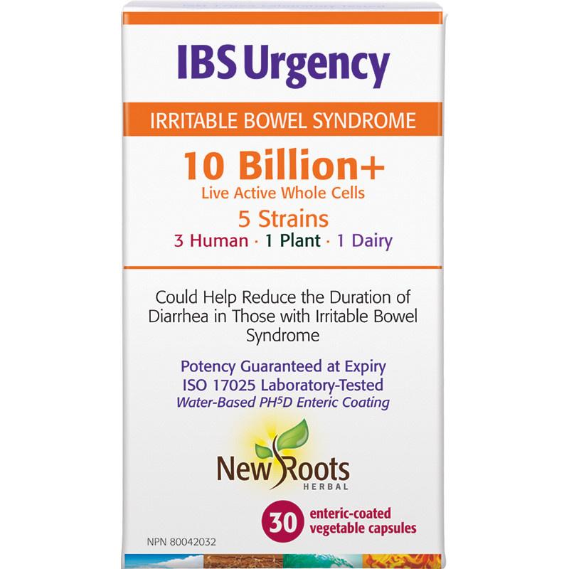 New Roots New Roots - IBS Urgency 10 Billion+ - 30 Caps