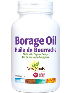 New Roots New Roots - Borage Oil - Organic - 90 SG