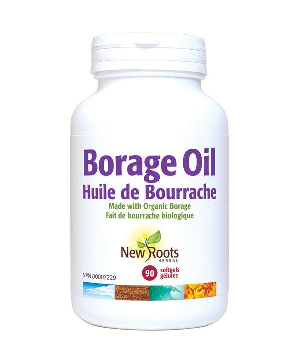 New Roots - Borage Oil - Organic - 90 SG