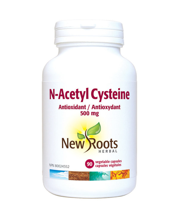 New Roots - N-Acetyl-L-Carnitine - 750mg - 90 V-Caps