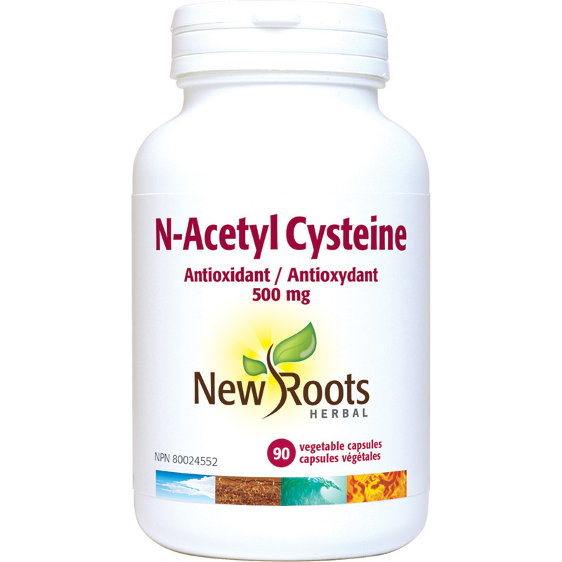 New Roots New Roots - N-Acetyl-L-Carnitine - 750mg - 90 V-Caps