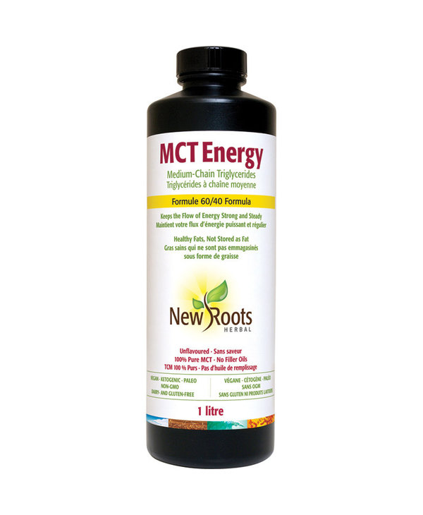 New Roots - MCT Energy Oil - 1 LItre