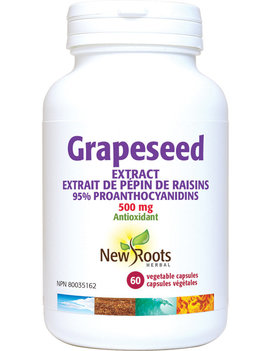 New Roots New Roots - Grapeseed Extract 500 mg - 60 Caps