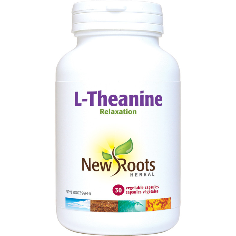 New Roots New Roots - L-Theanine - 30 V-Caps