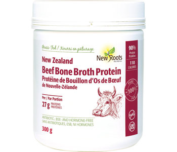 New Roots - New Zealand Beef Bone Broth Protein - 300g