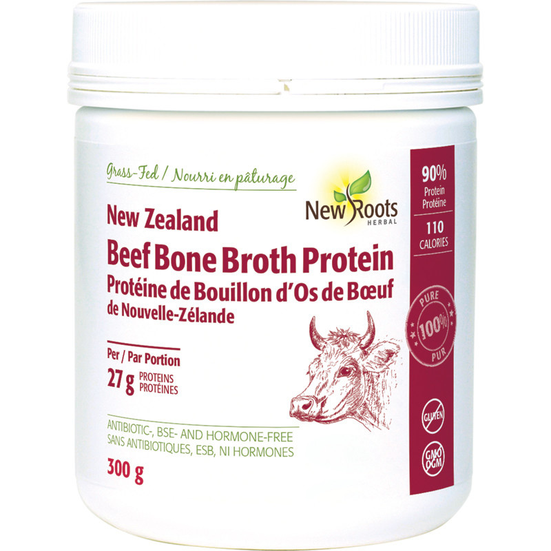 New Roots New Roots - New Zealand Beef Bone Broth Protein - 300g