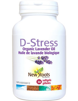 New Roots New Roots - D-Stress lavender oil - 30 SG