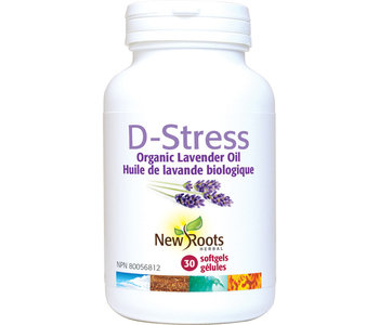 New Roots - D-Stress lavender oil - 30 SG
