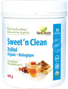 New Roots New Roots - Sweet'N Clean - Xylitol - 454g