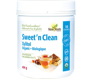 New Roots - Sweet'N Clean - Xylitol - 454g