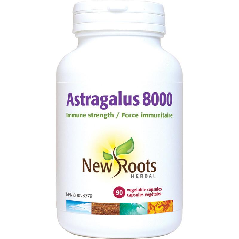 New Roots New Roots - Astragalus8000 - 90 V-Caps