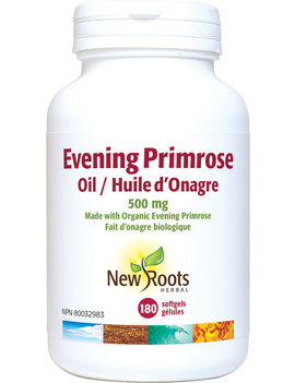 New Roots New Roots - Evening Primrose Oil 500 mg - 180 SG