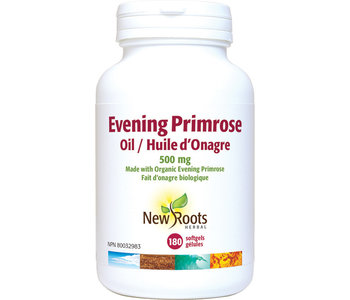 New Roots - Evening Primrose Oil 500 mg - 180 SG