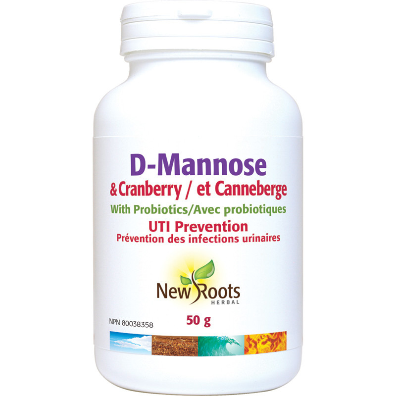 New Roots New Roots - D-Mannose & Cranberry - 50g