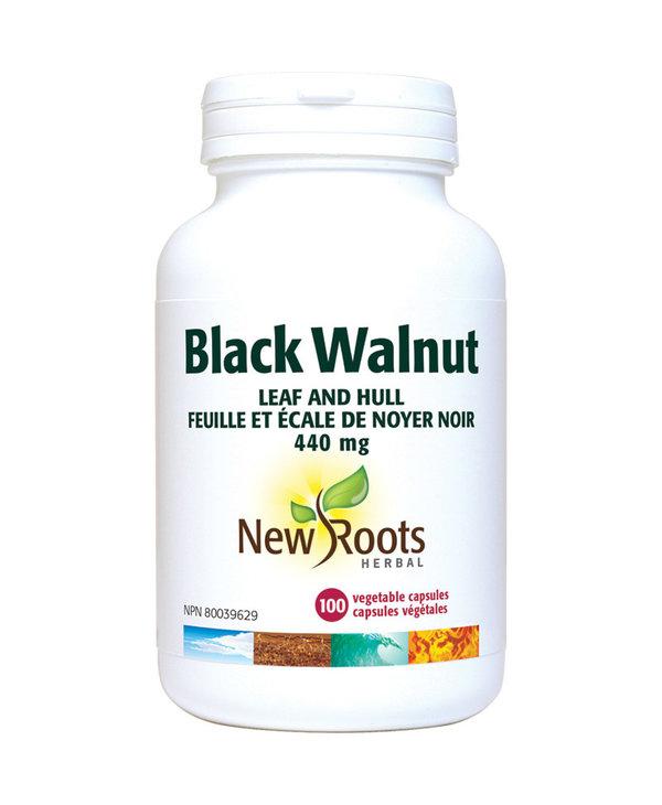 New Roots - Black Walnut Leaf and Hull - 100 V-Caps
