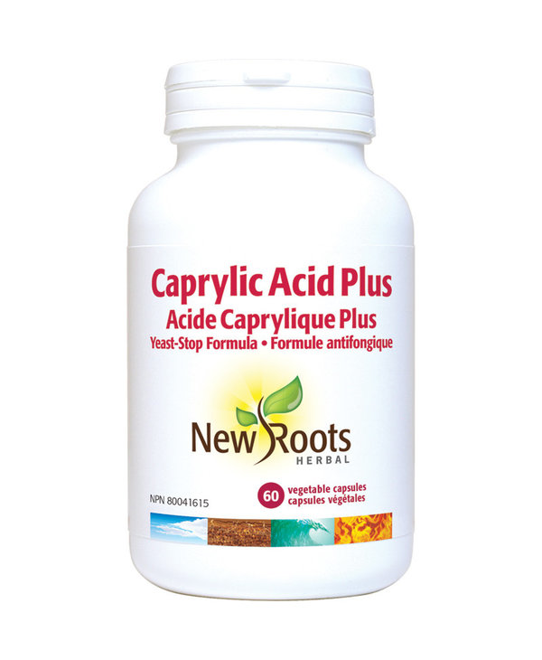 New Roots - Caprylic Acid Plus - 60 Caps