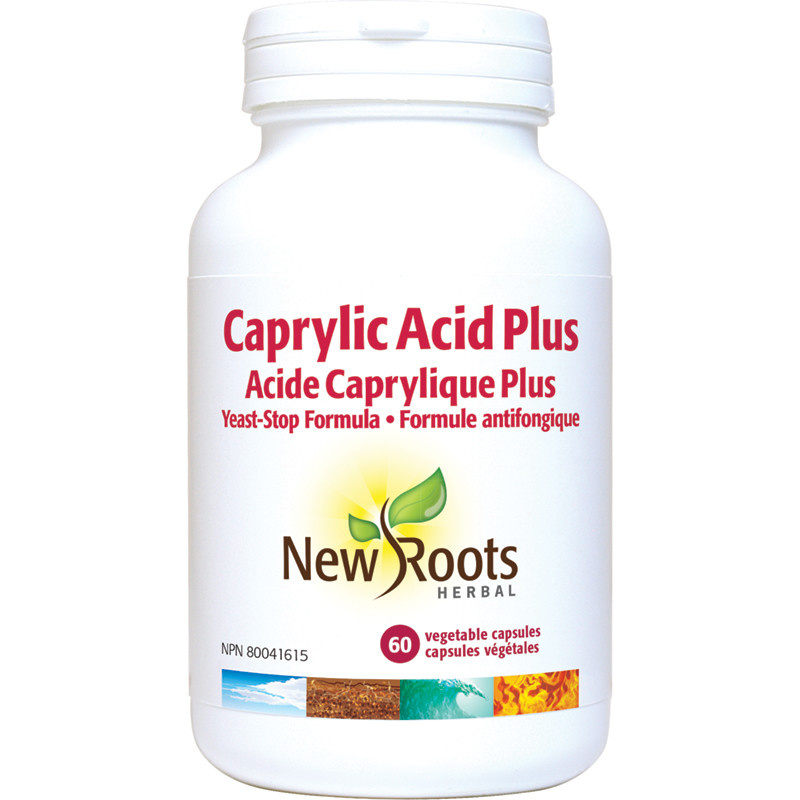New Roots New Roots - Caprylic Acid Plus - 60 Caps