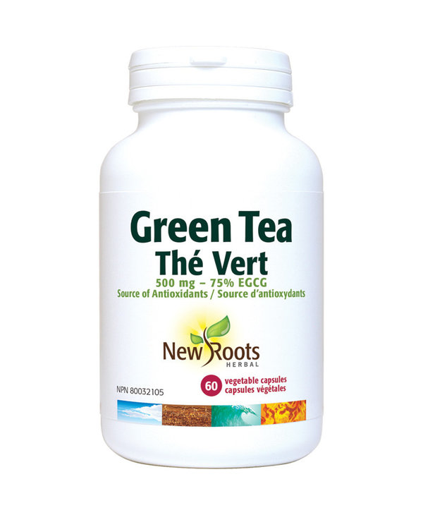 New Roots - Green Tea - 500mg - 60 V-Caps