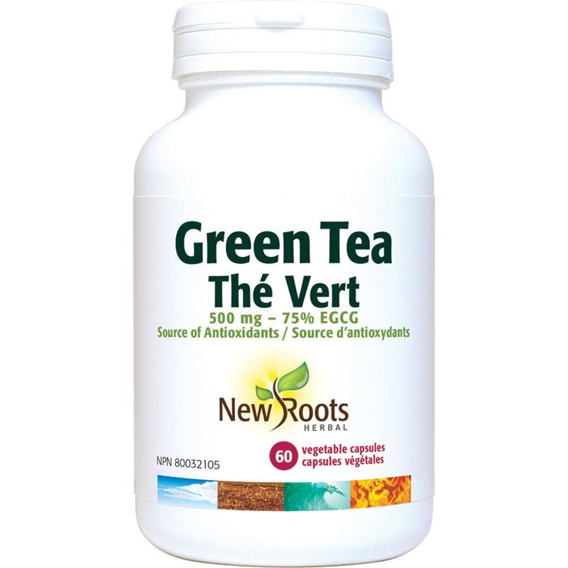 New Roots New Roots - Green Tea - 500mg - 60 V-Caps