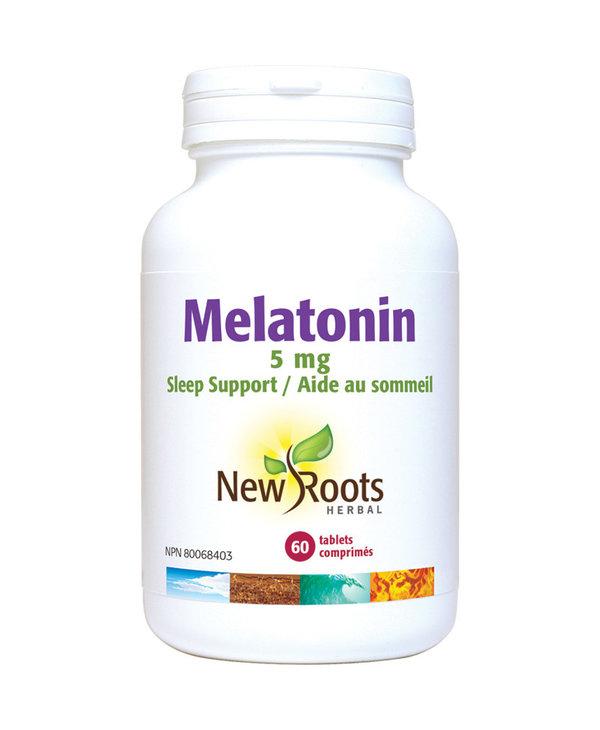 New Roots - Melatonin 5mg - 60 Tabs