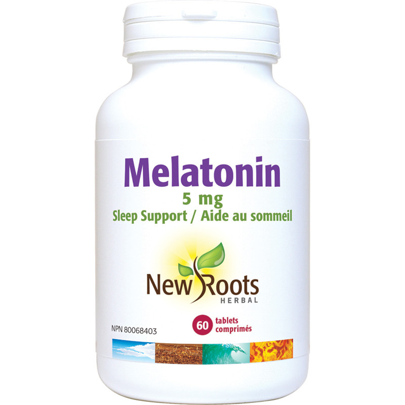 New Roots New Roots - Melatonin 5mg - 60 Tabs