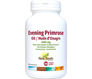 New Roots - Evening Primrose Oil 1000 mg - 180 SG