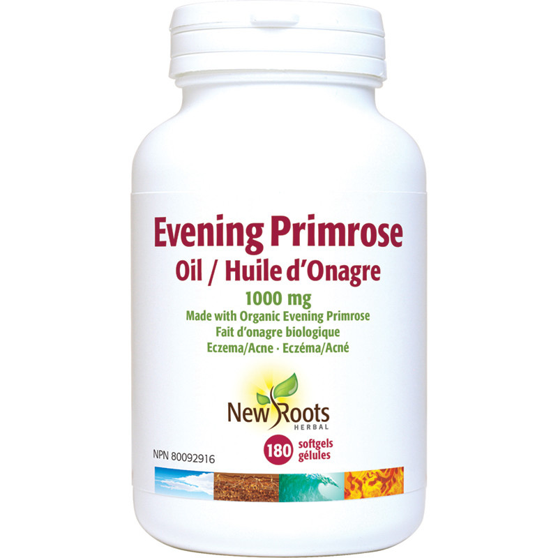 New Roots New Roots - Evening Primrose Oil 1000 mg - 180 SG