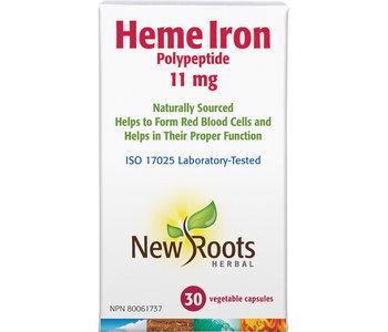 New Roots - Heme Iron - 30 V-Caps