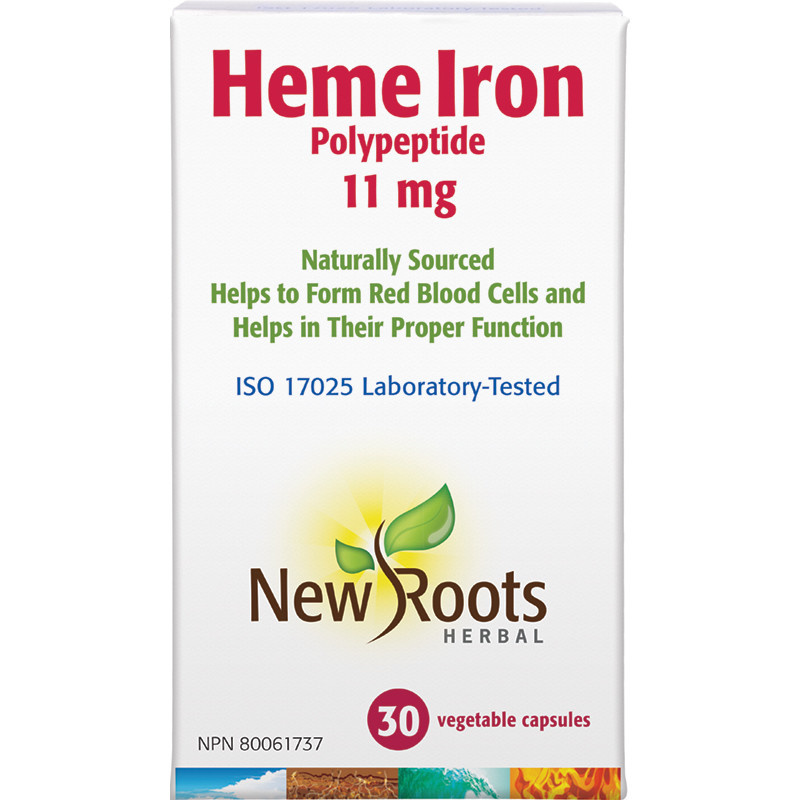 New Roots New Roots - Heme Iron - 30 V-Caps