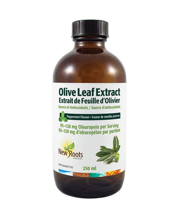 New Roots - Olive Leaf Extract - 250ml