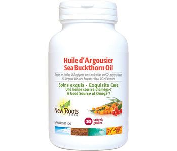 New Roots - Seabuckthorn Oil - Organic - 30 SG