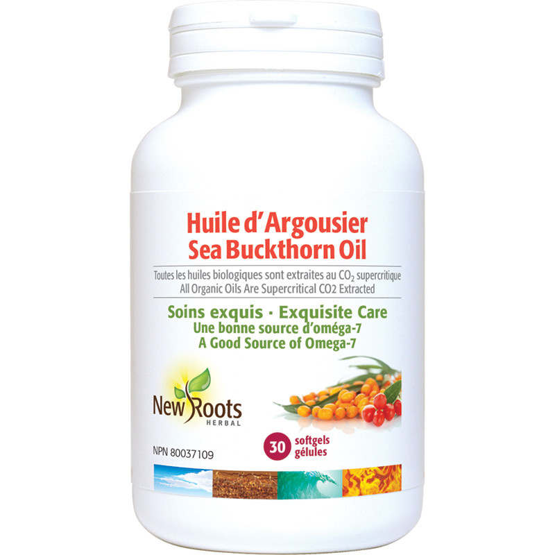 New Roots New Roots - Seabuckthorn Oil - Organic - 30 SG