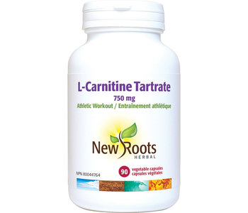 New Roots - L-Carnitine Tartrate - 90 Caps