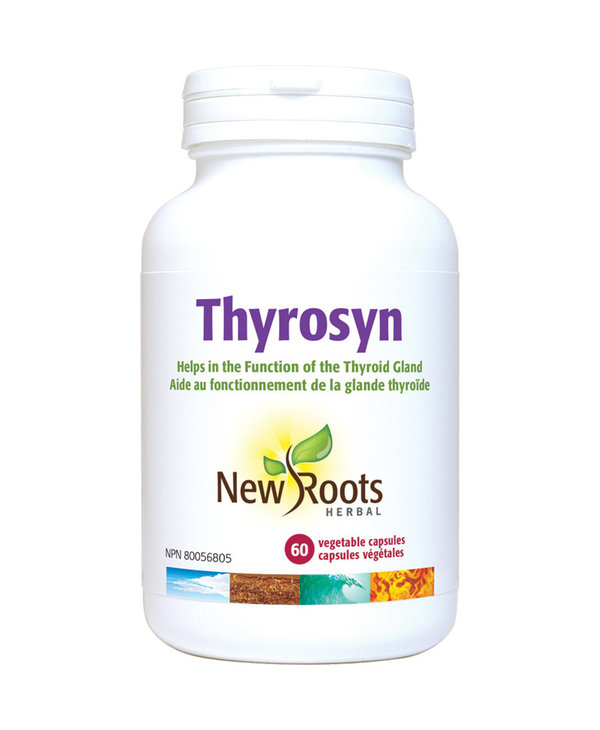 New Roots - Thyrosyn with Vitamin E - 60 Tabs