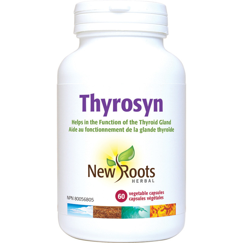 New Roots New Roots - Thyrosyn with Vitamin E - 60 Tabs