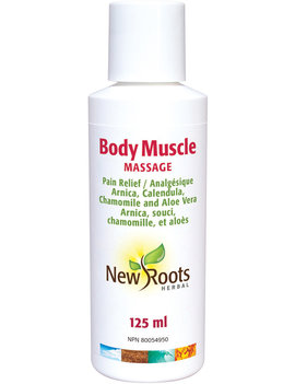 New Roots New Roots - Body Muscle Massage - 125ml