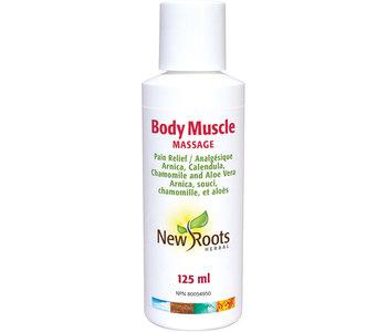 New Roots - Body Muscle Massage - 125ml