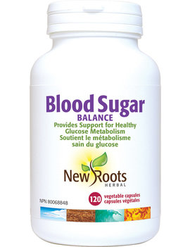 New Roots New Roots - Blood Sugar Balance - 120 Caps