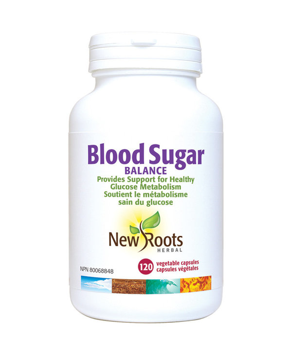 New Roots - Blood Sugar Balance - 120 Caps