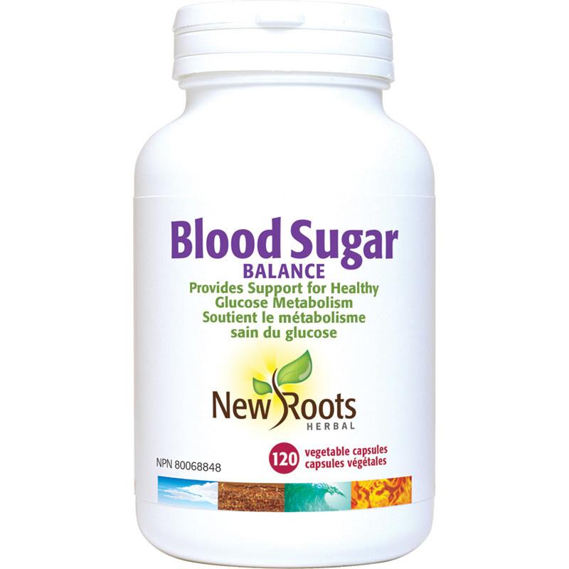 New Roots New Roots - Blood Sugar Balance - 120 Caps