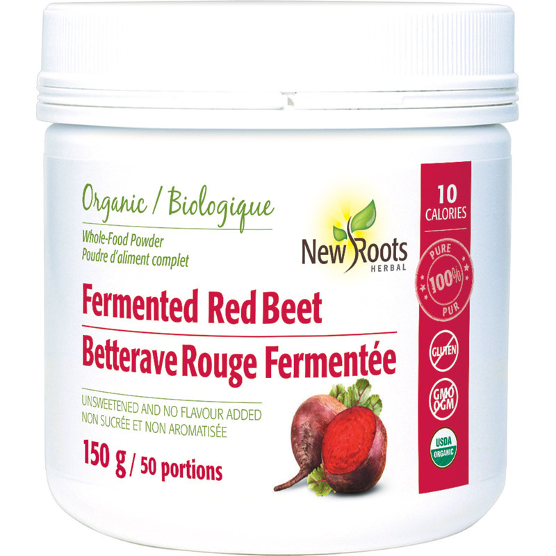 New Roots New Roots - Fermented Red Beet Root - Organic - 150g