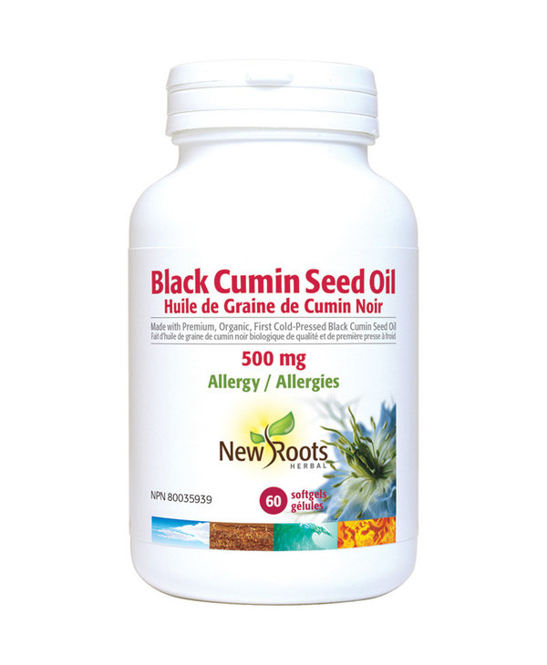 New Roots - Black Cumin Seed Oil 500mg - 60 SG