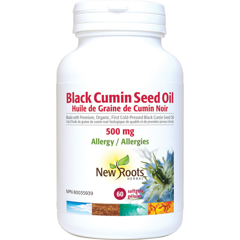 New Roots New Roots - Black Cumin Seed Oil 500mg - 60 SG