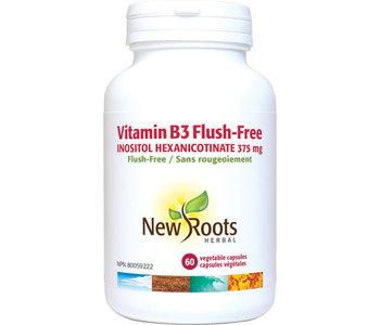 New Roots - Vitamin B3 Flush-Free - 60 V-Caps