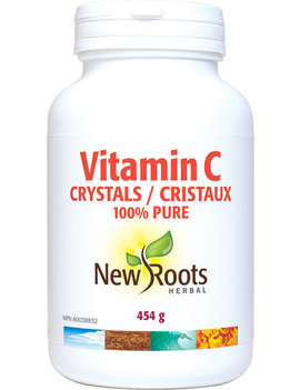 New Roots New Roots - Vitamin C Crystals - 454g